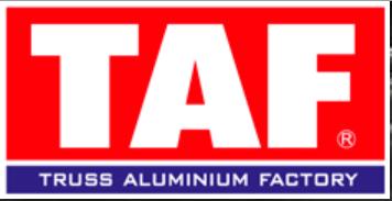 Truss Aluminium Factory a.s. Logo